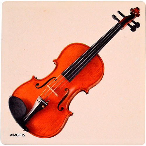 AIM Violin Stone Coaster thumbnail