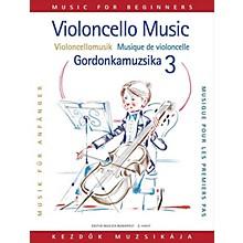 Editio Musica Budapest Violoncello Music for Beginners - Volume 3 EMB Series