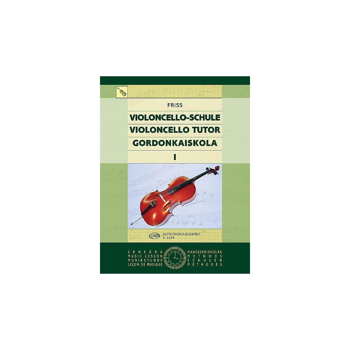 Editio Musica Budapest Violoncello Tutor - Volume 1 EMB Series by Antal Friss thumbnail