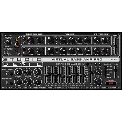 Studio Devil Virtual Bass Amp Pro Software Download thumbnail
