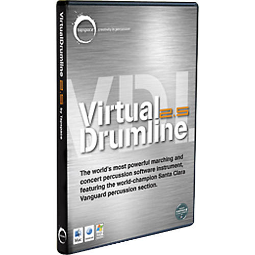 Hal Leonard Virtual Drumline 2.5 Marching and Concert Percussion Software Instrument thumbnail