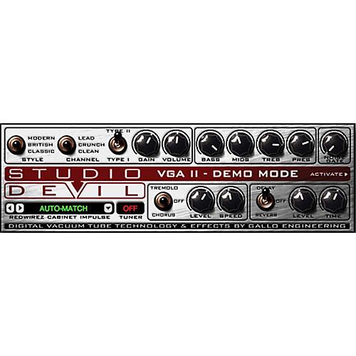 Studio Devil Virtual Guitar Amp II Software Download thumbnail