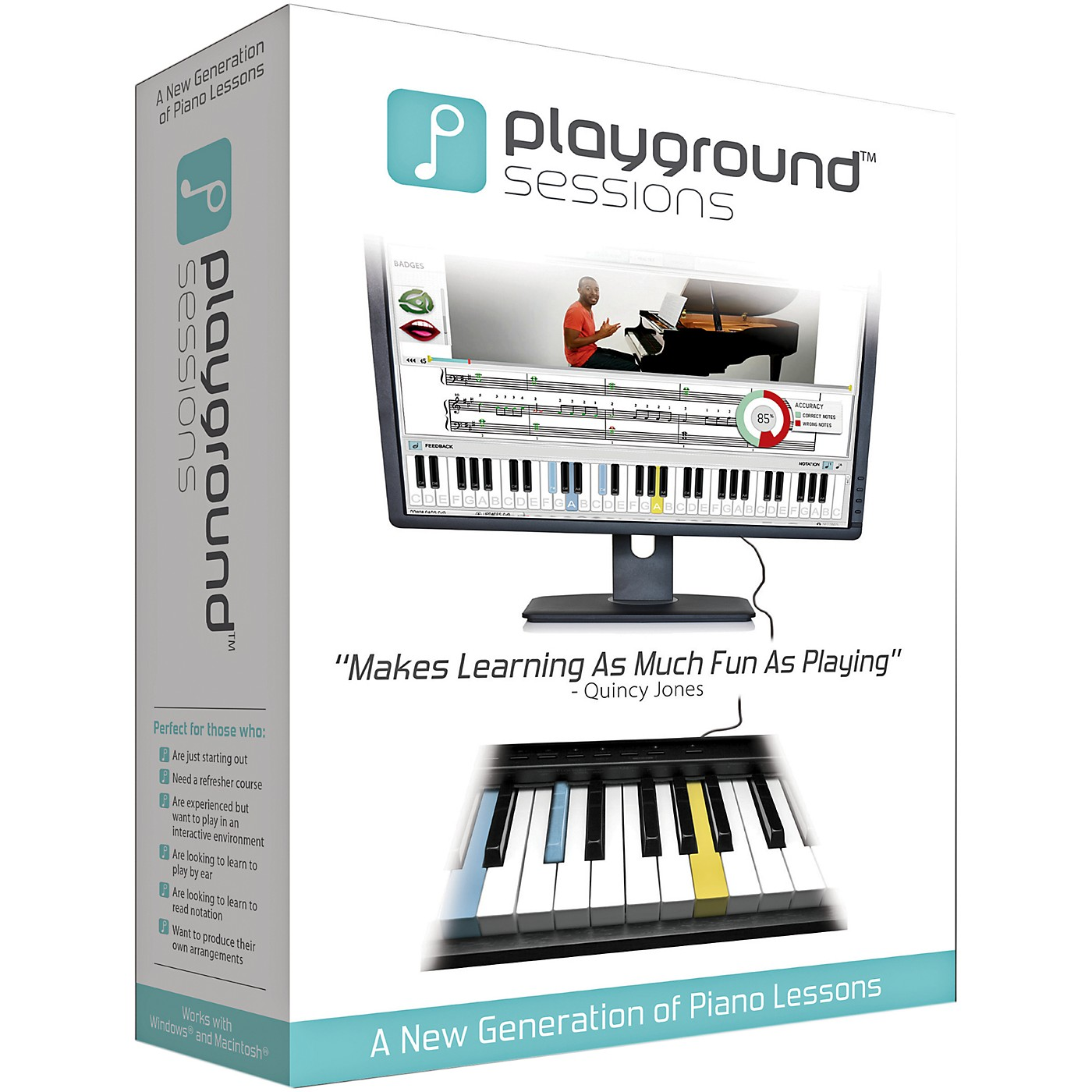 Playground Sessions Virtual Piano Lessons Lifetime Membership for Mac (Software Download) thumbnail