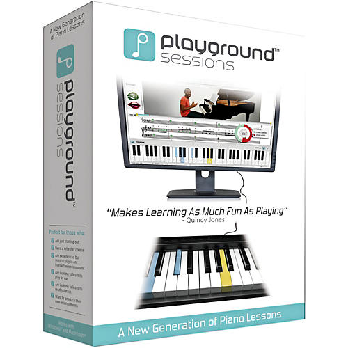 Playground Sessions Virtual Piano Lessons PC/Mac Software Download thumbnail