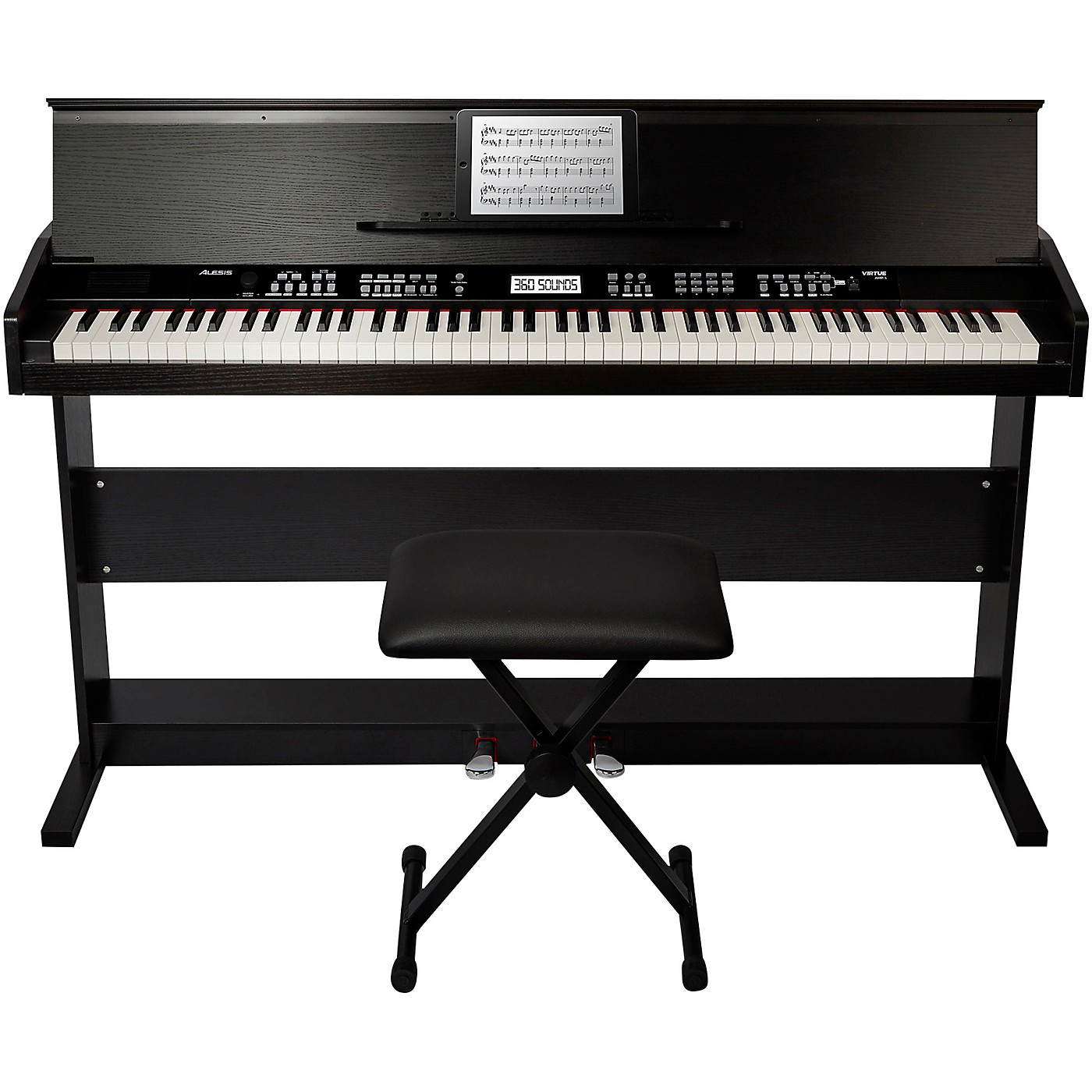 Alesis Virtue 88-Key Digital Piano with Stand and Adjustable Bench thumbnail
