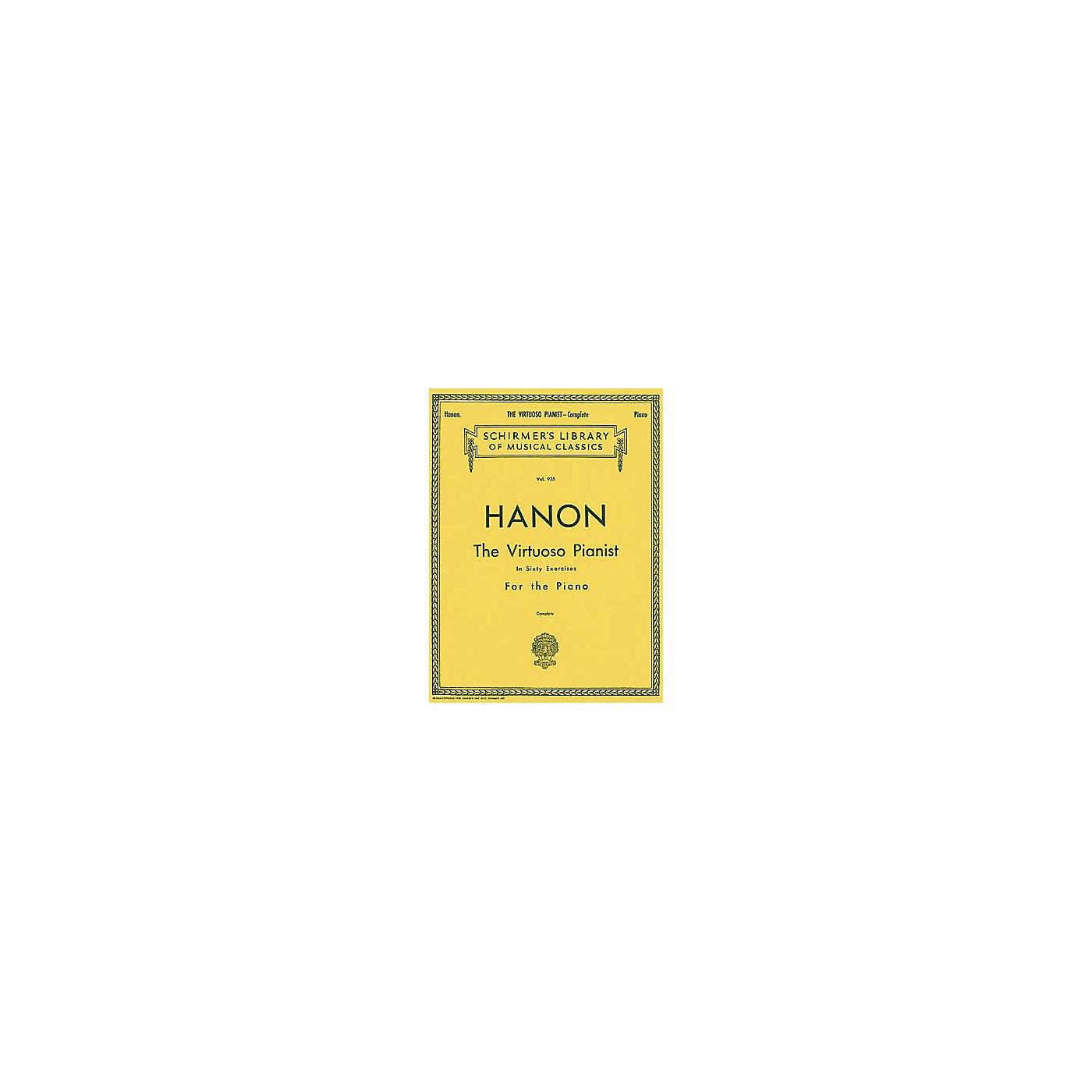 Hal Leonard Virtuoso Pianist in 60 Exercises - Complete thumbnail