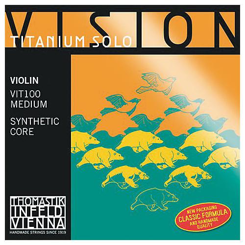 Thomastik Vision Titanium Solo Violin Strings thumbnail