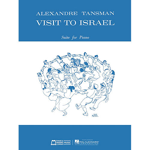 Edward B. Marks Music Company Visit to Israel (Suite for Piano) E.B. Marks Series Softcover Composed by Alexandre Tansman thumbnail