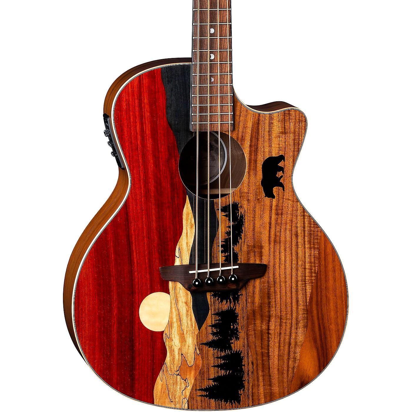 Luna Guitars Vista Bear Tropical Wood Acoustic-Electric Bass thumbnail