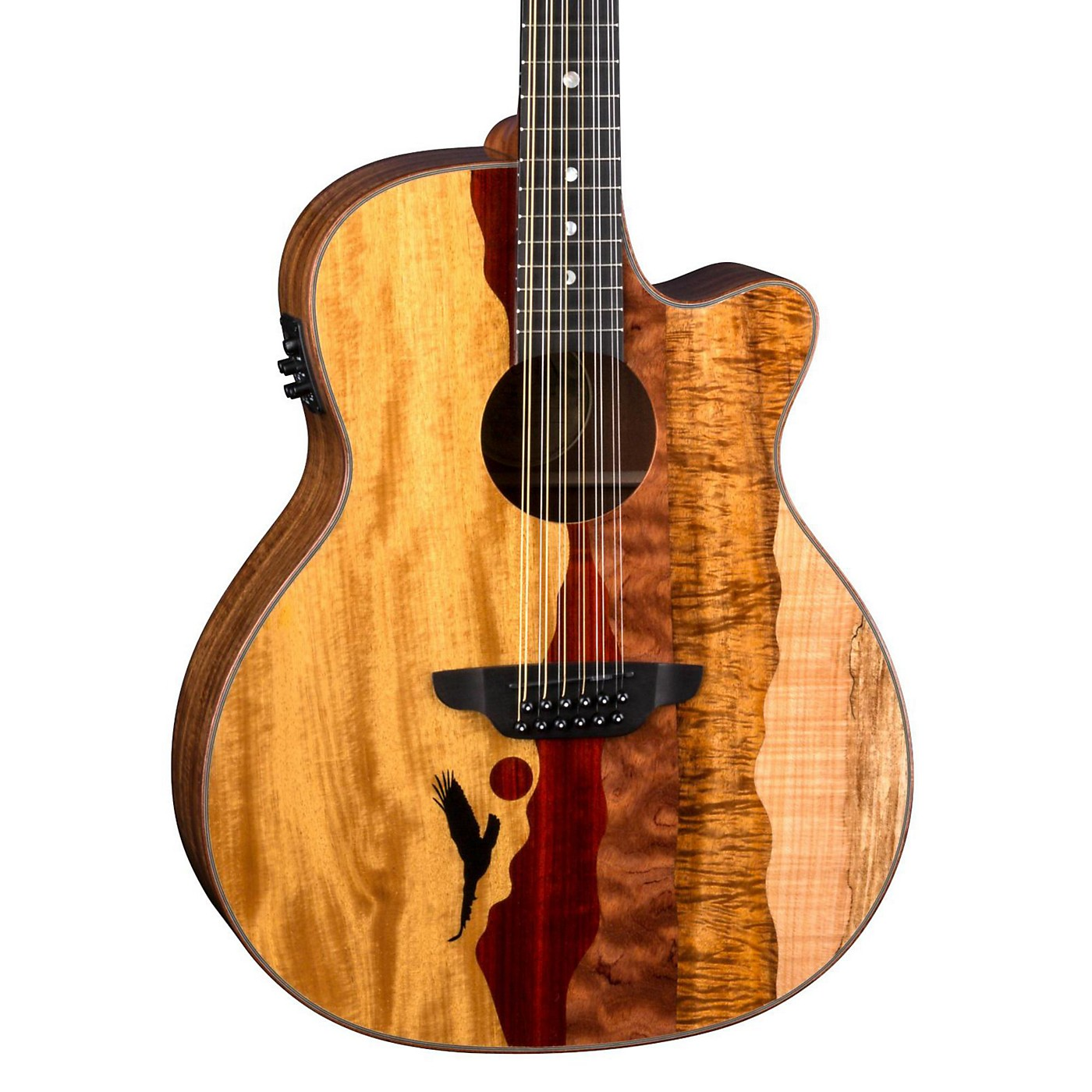Luna Guitars Vista Eagle 12-String Acoustic-Electric Guitar thumbnail