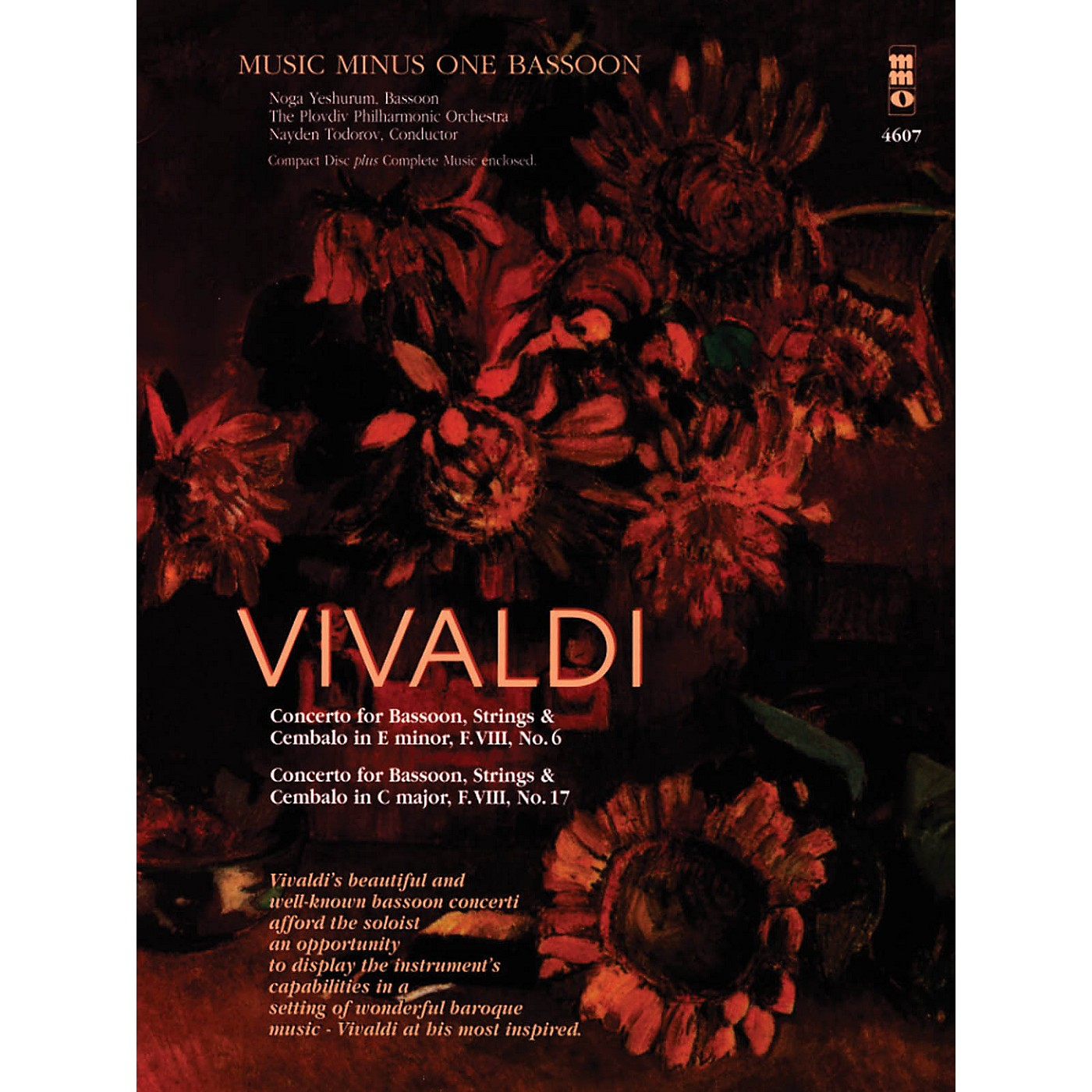 Music Minus One Vivaldi - Concertos for Bassoon, Strings & Cembalo No. 6 and No. 7 Music Minus One Softcover with CD thumbnail