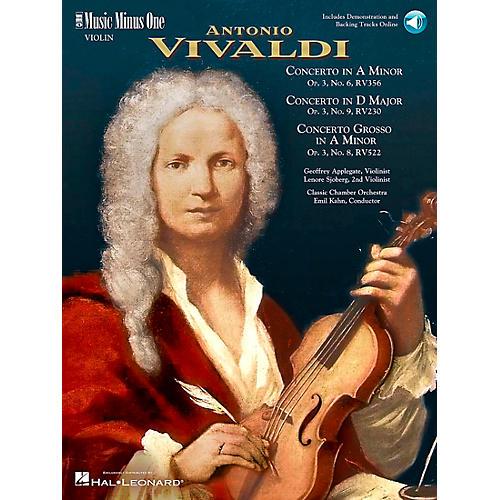 Hal Leonard Vivaldi Concerti Opus 3, nos 6 8 and 9-thumbnail