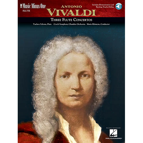 Music Minus One Vivaldi Flute Concerti in D Major (RV429); G Major (RV435); A Minor (RV440) Music Minus One Book/CD thumbnail