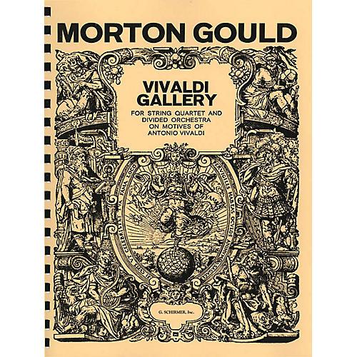 G. Schirmer Vivaldi Gallery (Study Score) Study Score Series Composed by Morton Gould thumbnail