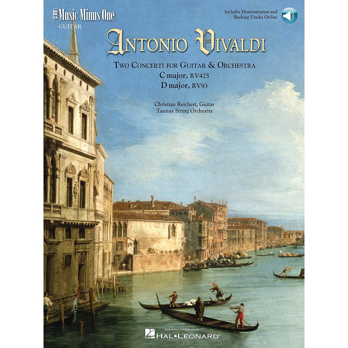 Music Minus One Vivaldi-Two Concerti for Guitar (Lute) & Orch: C Maj RV425 and D Maj RV93 Music Minus One BK/Audio Online thumbnail