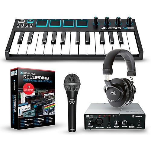 Alesis Vmini Portable 25-Key USB-MIDI Keyboard Controller Packages thumbnail