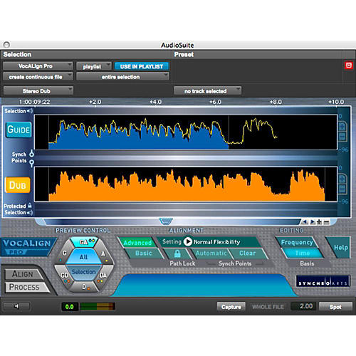 SYNCHRO ARTS VocALign Pro 4 Software Download thumbnail