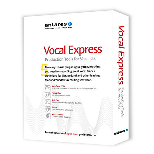 Antares Vocal Express Production Tools for Vocalists-thumbnail