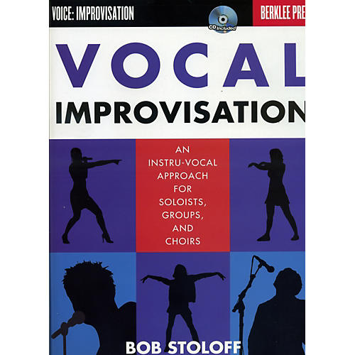 Berklee Press Vocal Improvisation - An Instru-Vocal Approach For Soloists, Groups And Choirs Book/CD-thumbnail