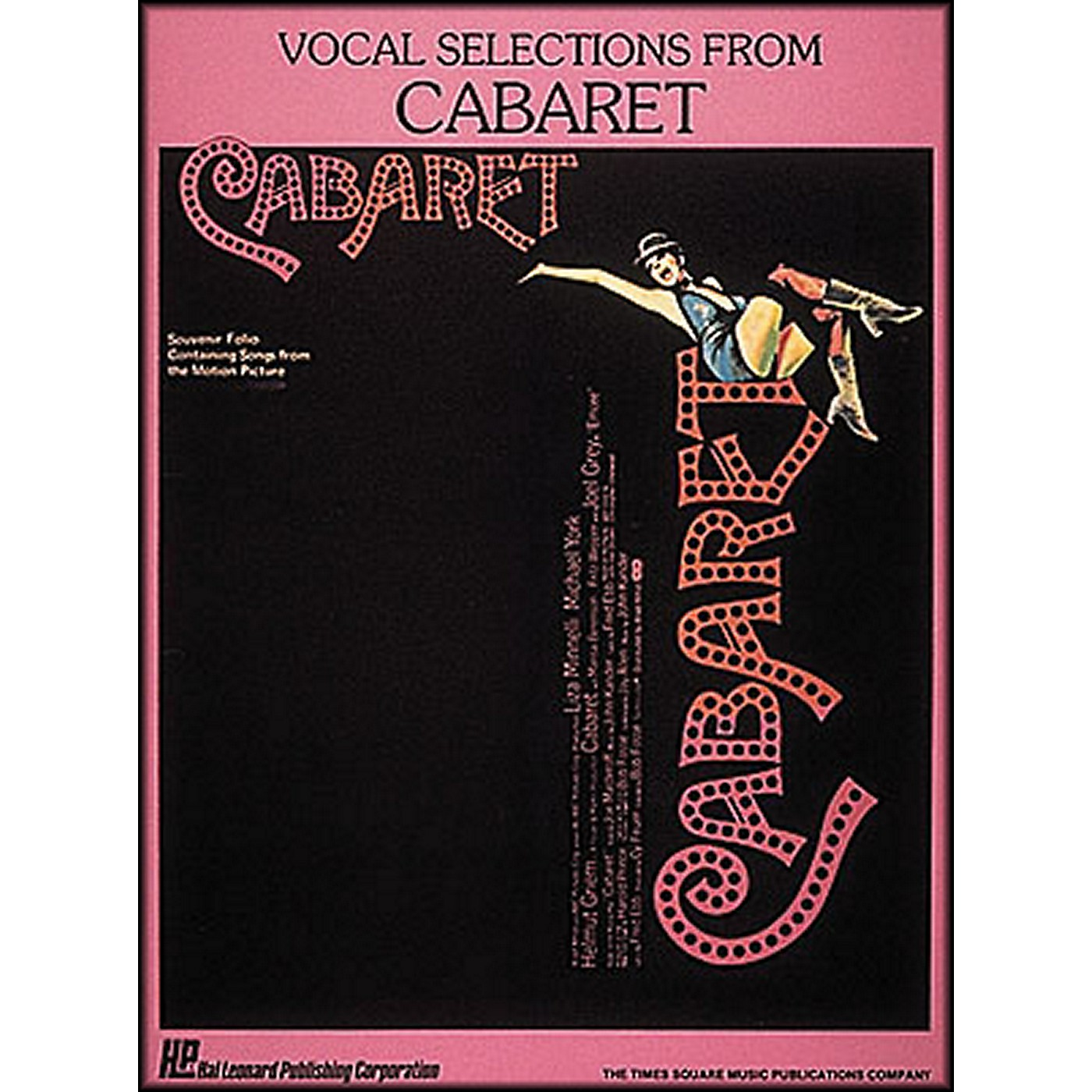 Hal Leonard Vocal Selections From Cabaret Songbook - Piano, Vocal, and Guitar thumbnail