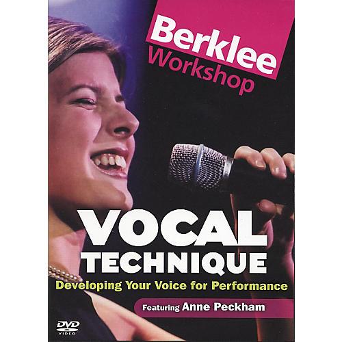 Berklee Press Vocal Technique for Performance (DVD) thumbnail