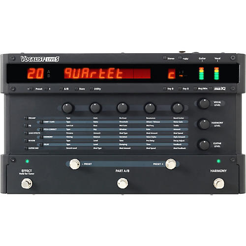DigiTech Vocalist LIVE 5 Vocal Harmony and Effects Processor thumbnail