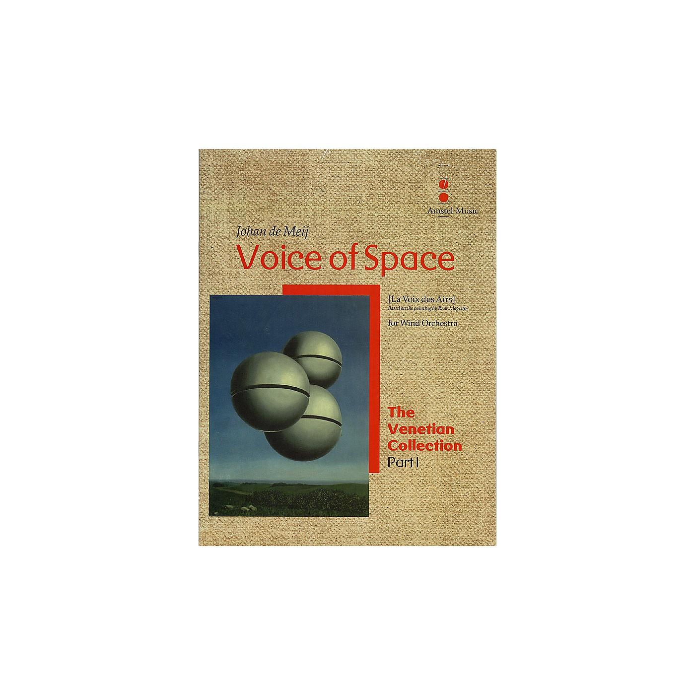 Amstel Music Voice of Space (La Voix des Airs) (The Venetian Collection) Concert Band Level 5 by Johan de Meij thumbnail