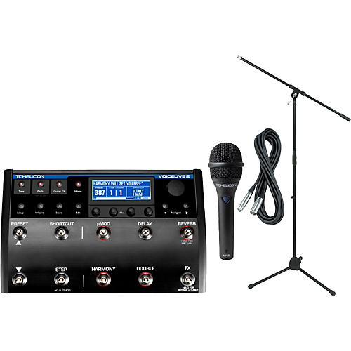 TC Helicon VoiceLive 2 with MP-75 Mic thumbnail