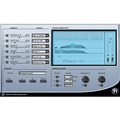 TC Helicon VoiceModeler Plug-in for PowerCore-thumbnail
