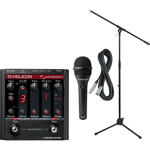 TC Helicon VoiceTone Correct XT with MP-75 Mic-thumbnail