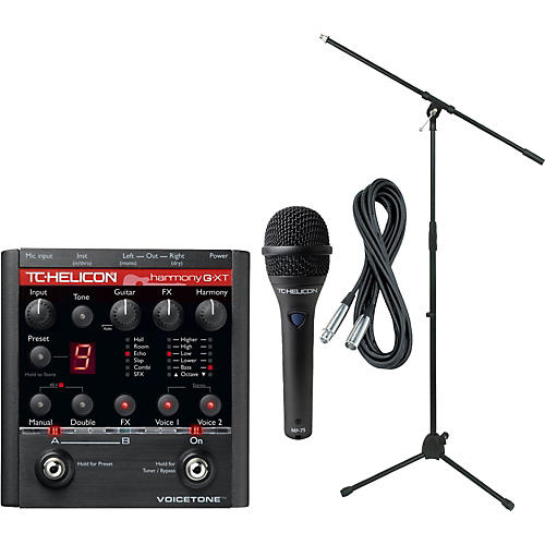 TC Helicon VoiceTone Harmony G-XT with MP-75 Mic thumbnail