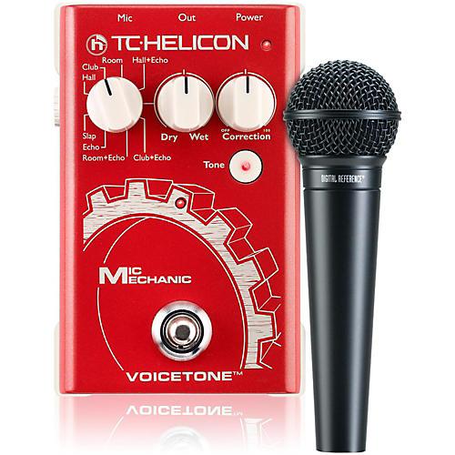 TC Helicon VoiceTone Mic Mechanic with DRV100 Mic Bundle thumbnail