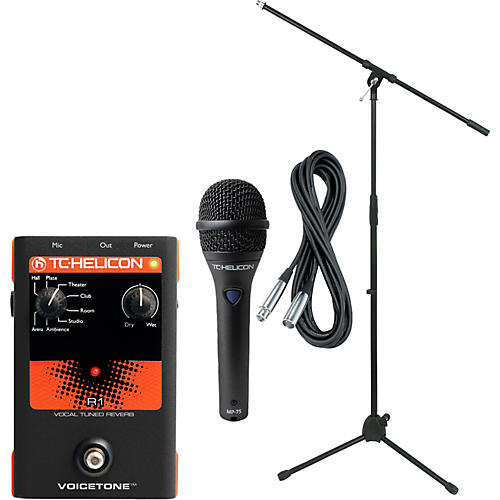 TC Helicon VoiceTone R1 with MP-75 Mic thumbnail