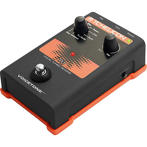 TC Helicon VoiceTone Single R1 Vocal Tuned Reverb thumbnail