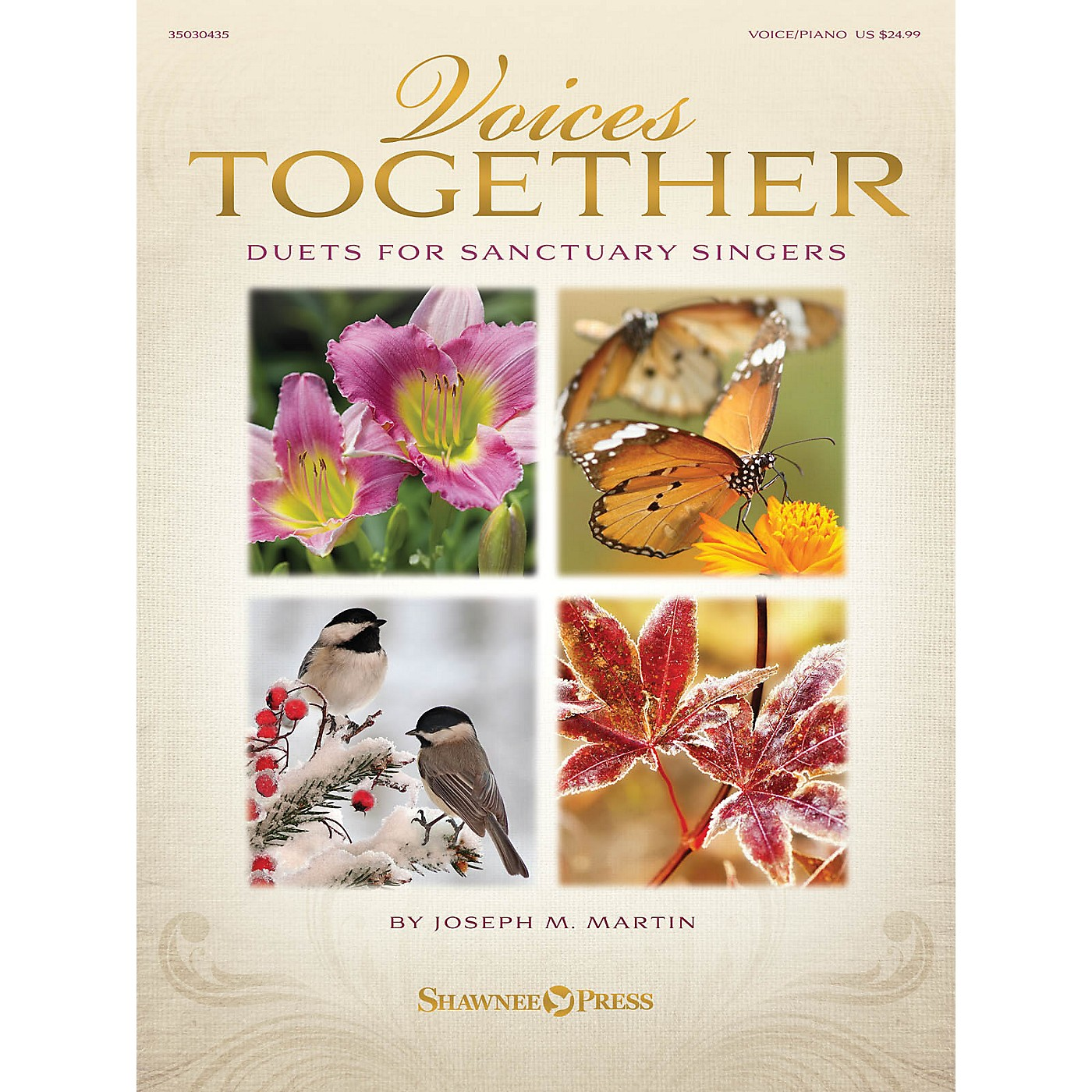 Shawnee Press Voices Together (Duets for Sanctuary Singers) Book and CD pak Composed by Joseph M. Martin thumbnail
