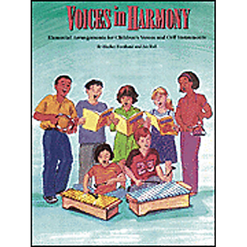 Hal Leonard Voices in Harmony - Orff Collection Book thumbnail