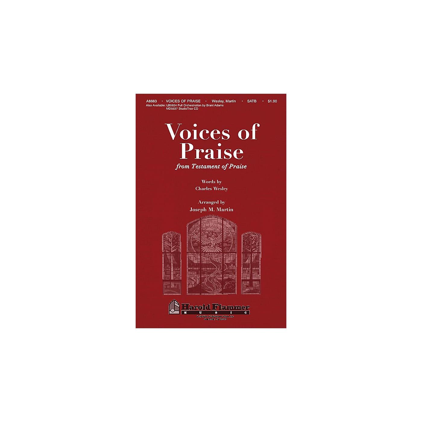 Shawnee Press Voices of Praise (from Testament of Praise) SATB arranged by Joseph M. Martin thumbnail