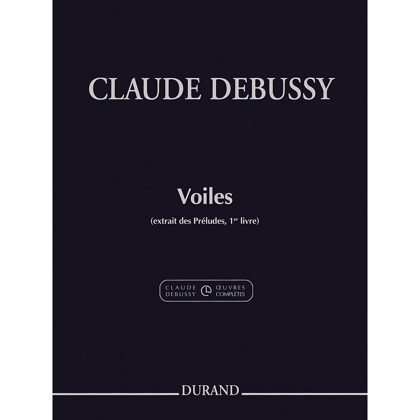 Durand Voiles (Excerpt from Preludes Volume 1) Editions Durand Series Softcover thumbnail
