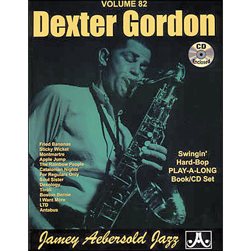 Jamey Aebersold (Vol. 82) Dexter Gordon thumbnail