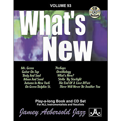 Jamey Aebersold (Vol. 93) What's New thumbnail