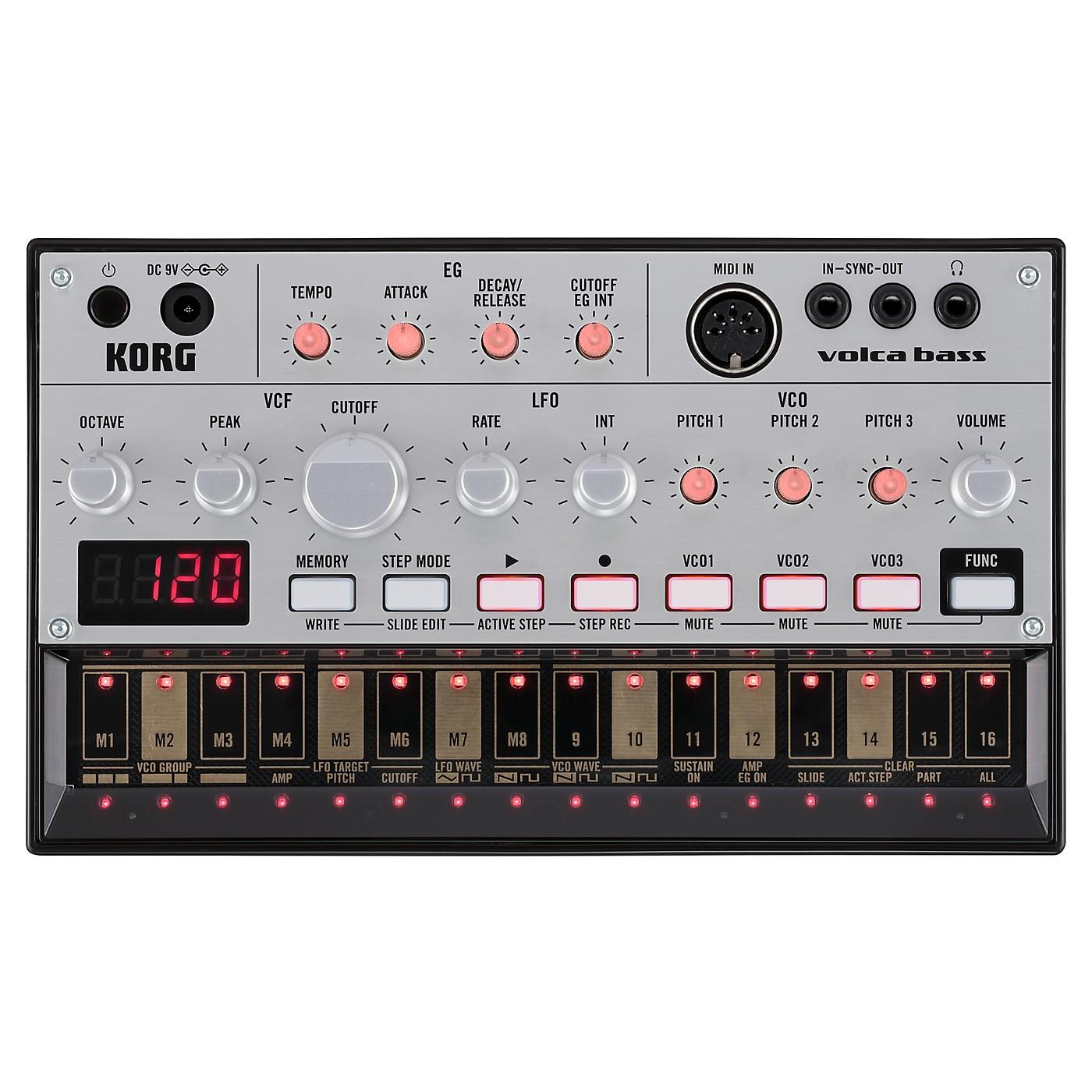 Korg Volca Bass Analog Bass Machine thumbnail