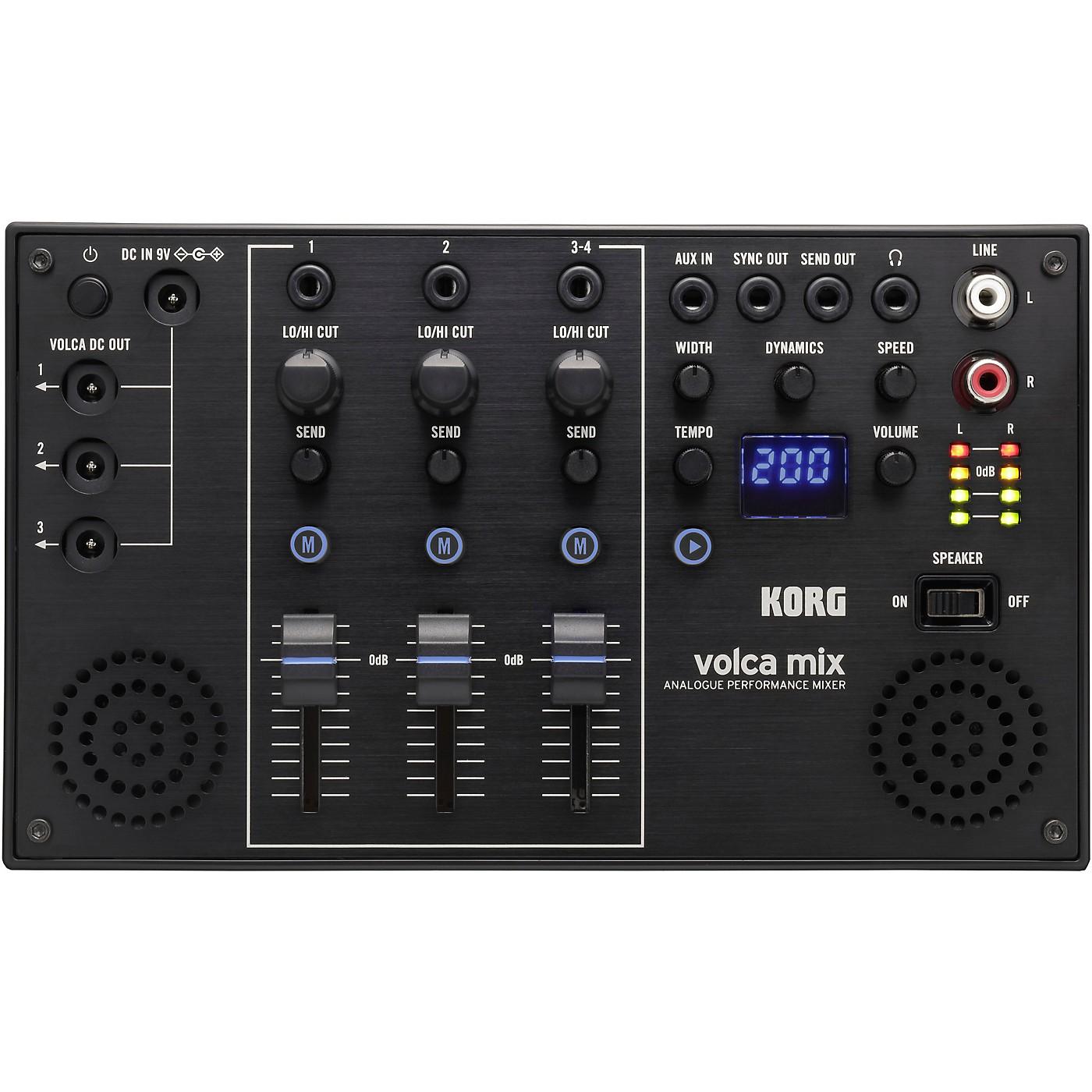 Korg Volca Mix Analog Performance Mixer thumbnail
