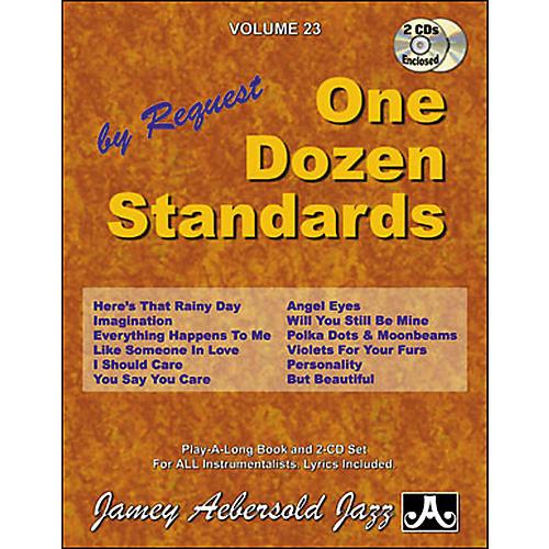 Jamey Aebersold Volume 23 - One Dozen Standards - Book and 2-CD Set-thumbnail