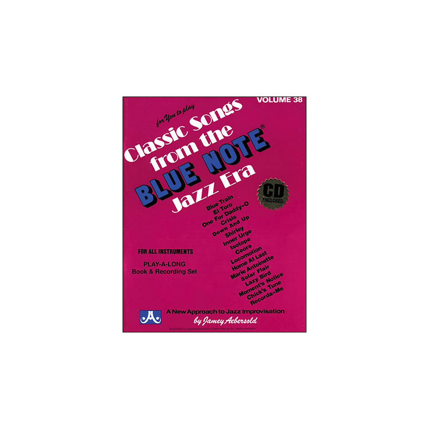 Jamey Aebersold Volume 38 - Blue Note - Play-Along Book and CD Set thumbnail