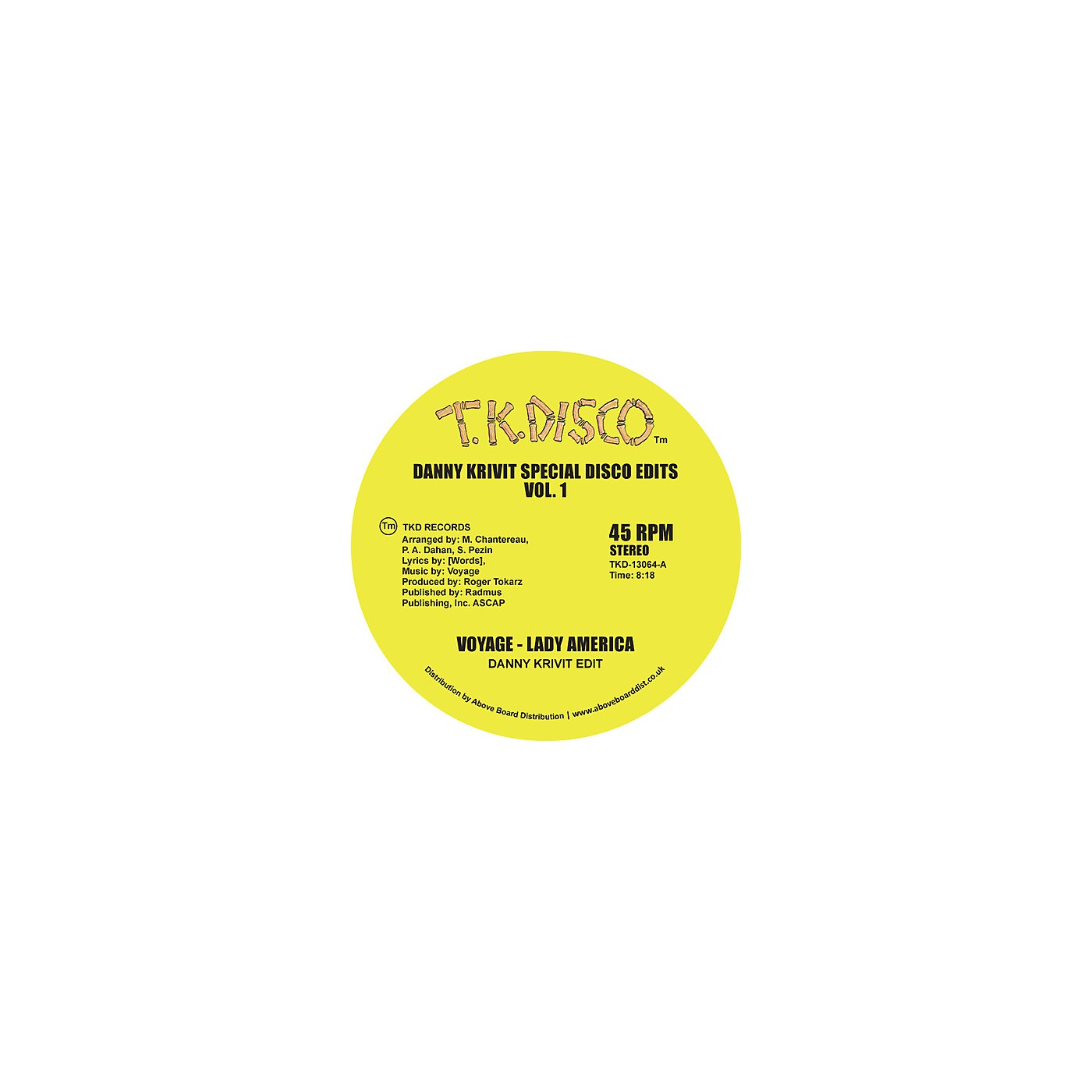 Alliance Voyage - Danny Krivit Special Disco Edits Vol. 1 thumbnail
