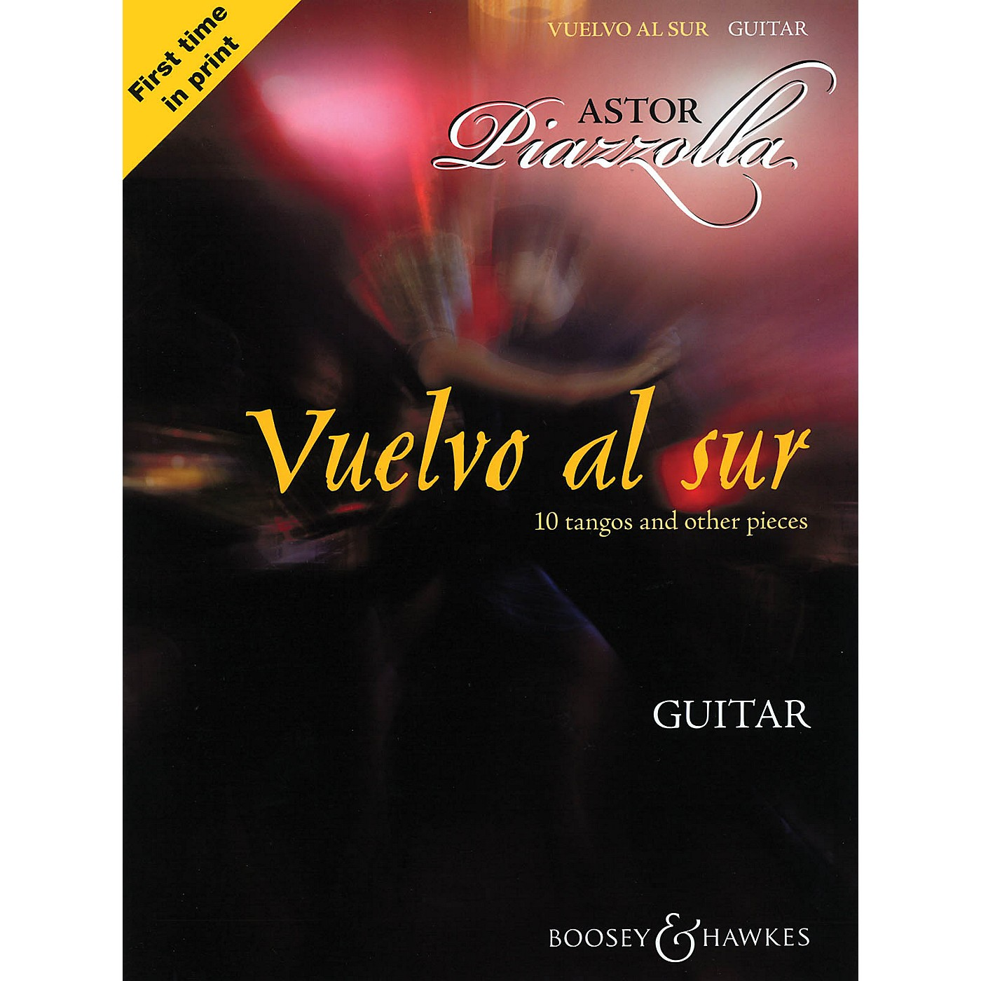 Boosey and Hawkes Vuelvo al Sur (10 Tangos and Other Pieces Guitar Solo) Boosey & Hawkes Miscellaneous Series Softcover thumbnail