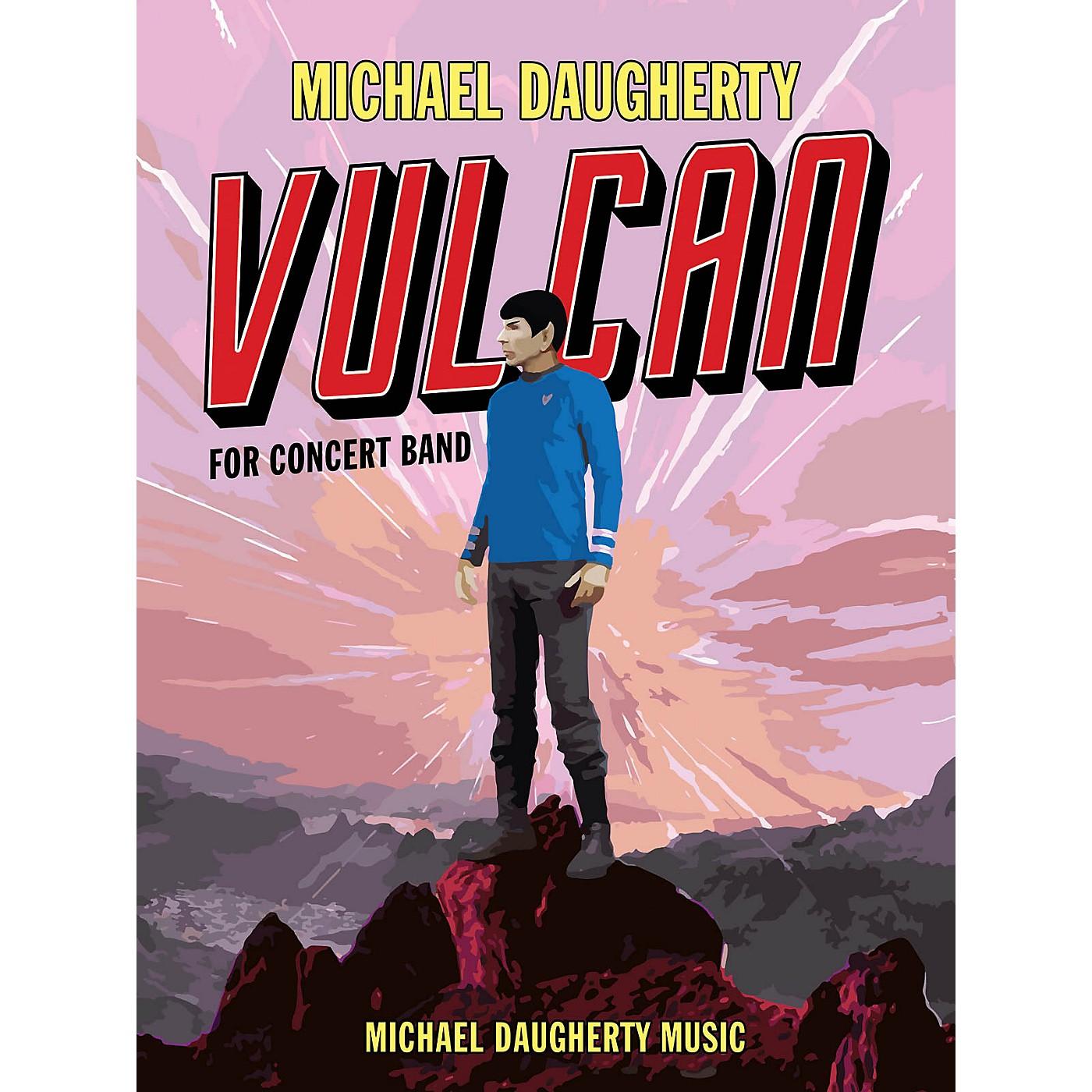 Michael Daugherty Music Vulcan (Full Score) Concert Band Level 4 Composed by Michael Daugherty thumbnail