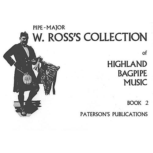 Paterson's Publications W. Ross's Collection of Highland Bagpipe Music (Book 2) Music Sales America Series thumbnail