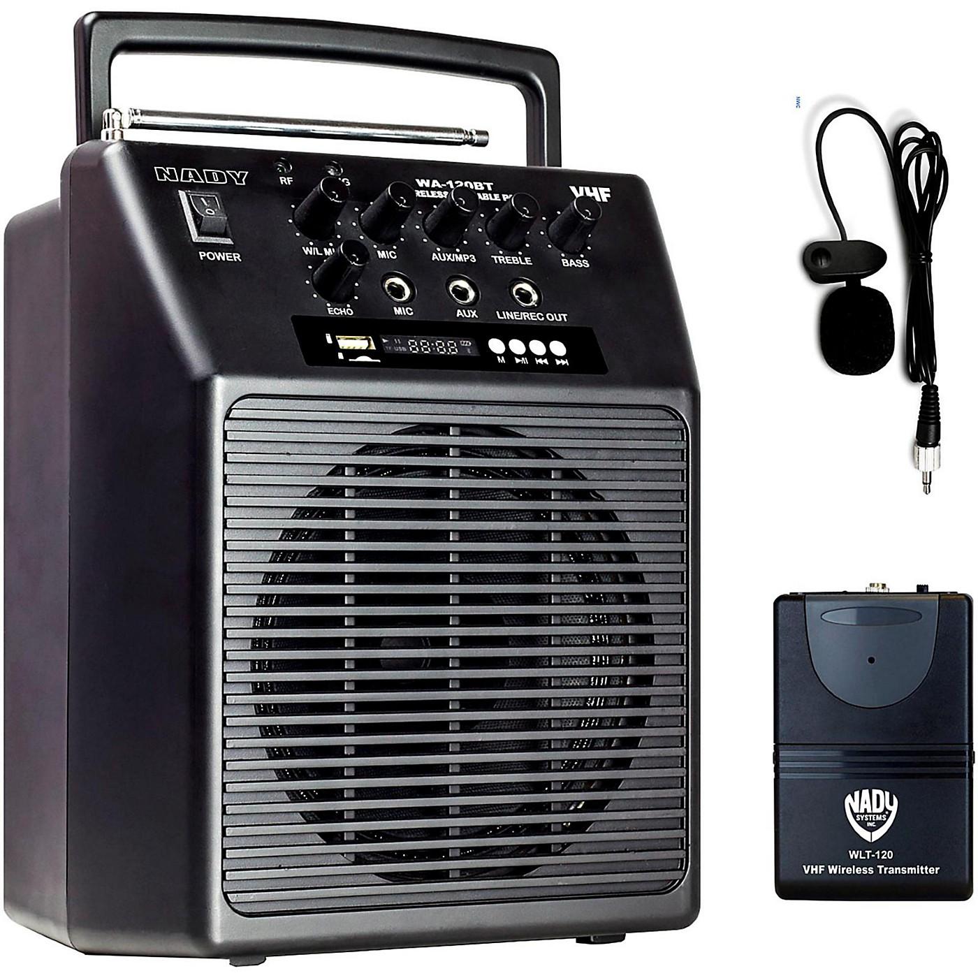 Nady WA-120BT LT Portable Wireless PA System thumbnail