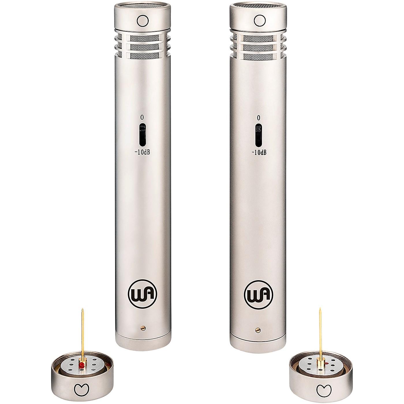 Warm Audio WA-84 Premium Stereo Package - Cardioid and Omni Capsules thumbnail